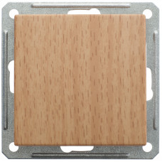 Wessen 59 Бук Выключатель 1-клавишный 2-х полюсной 16А (сх.2) | VS216-152-8-86 | Schneider Electric