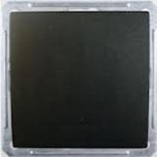 Wessen 59 Черный бархат Выключатель 1-клавишный кнопочный 16А (сх.1) | VS116-155-6-86 | Schneider Electric