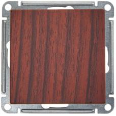 Wessen 59 Морёный дуб Выключатель 1-клавишный 2-полюсный, 10АХ | VS210-152-9-86 | Schneider Electric