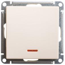 Wessen 59 Сл. кость Выключатель 1-клавишный с подсветкой, 10АХ   VS110-151-2-86   Schneider Electric