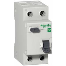 Выключатель автоматический дифференциальный EASY 9 1п+N 16А C 30мА тип AC | EZ9D34616 | Schneider Electric