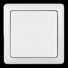 ХИТ О/У без изол. пласт. Белый Выключатель 1-клавишный 6А, 250В | VA16-131-B | Schneider Electric