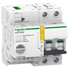 Выключатель автоматический двухполюсный REFLEX iC60H Ti24 10А B 15кА | A9C64210 | Schneider Electric