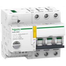 Выключатель автоматический трехполюсный REFLEX iC60H Ti24 10А B 15кА | A9C64310 | Schneider Electric