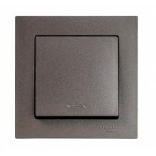 AtlasDesign Мокко Выключатель 1-клавишный с подсветкой, сх.1а, 10АХ, механизм | ATN000613 | Schneider Electric