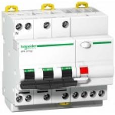 Выключатель автоматический дифференциальный DPN N VIGI 3п+N 40А C 30мА тип Asi | A9D33740 | Schneider Electric