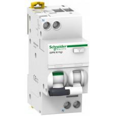 Выключатель автоматический дифференциальный iDPN N VIGI 1п+N 10А C 300мА тип AC | A9D41610 | Schneider Electric