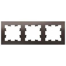 AtlasDesign Мокко Рамка 3-ая, универсальная | ATN000603 | Schneider Electric