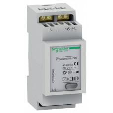 ДИММЕР 400ВТ STD400RC/RL-DIN ОДИНОЧНЫЙ | CCTDD20001 | Schneider Electric