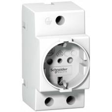 ЩИТ.РОЗ. iPC DIN 2П+T 16A 250В ИТАЛ | A9A15303 | Schneider Electric