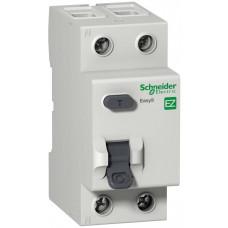 Выключатель дифференциальный (УЗО) EASY 9 2п 40А 30мА тип AC   EZ9R34240   Schneider Electric
