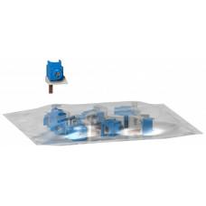 ПЕРЕХОДНИКИ ИЗОЛИРОВАННЫЕ ДЛЯ ШИН НЕЙТРАЛЬ (A9N) 9ММ (10ШТ)   A9N21042   Schneider Electric