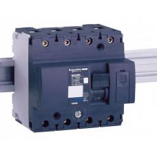 Выключатель автоматический четырехполюсный NG125L 16А B 50кА | 18769 | Schneider Electric