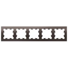 AtlasDesign Мокко Рамка 5-ая, универсальная | ATN000605 | Schneider Electric