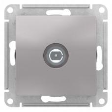 AtlasDesign Алюминий Розетка антенная одиночная TV коннектор, механизм | ATN000393 | Schneider Electric