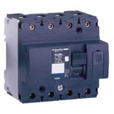 Выключатель автоматический четырехполюсный NG125L 63А B 50кА | 18775 | Schneider Electric