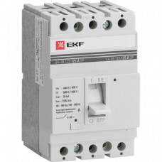 Автоматический выключатель ВА-99 125/100А 3P 25кА EKF PROxima   mccb99-125-100   EKF