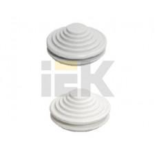 Сальник d= 25мм (Dотв.бокса 32мм) белый   YSA40-25-32-68-K01   IEK