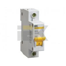 Выключатель автоматический однополюсный ВА47-29 1А C 4,5кА   MVA20-1-001-C   IEK