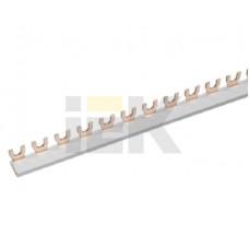 Шина соединительная типа FORK (вилка) 3Р 63А (дл.1 м) | YNS11-3-063 | IEK