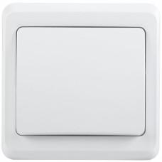 ВС10-1-0-ВБ Выключатель 1кл 10А ВЕГА (белый) | EVV10-K01-10-DM | IEK