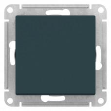 AtlasDesign Изумруд Кнопка нажимная сх.1, 10АХ, механизм | ATN000815 | Schneider Electric