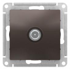 AtlasDesign Мокко Розетка TV оконечная 1DB, механизм | ATN000691 | Schneider Electric