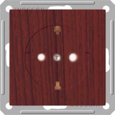 Wessen 59 Морёный дуб Розетка с/з с защитными шторками | RS16-152-9-86 | Schneider Electric