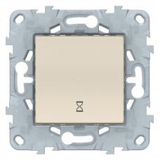 Unica New Бежевый Таймер нажимной, 10А | NU553544 | Schneider Electric