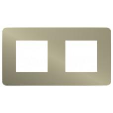 Unica Studio Color Бронза/Антрацит Рамка 2-ая | NU280452 | Schneider Electric