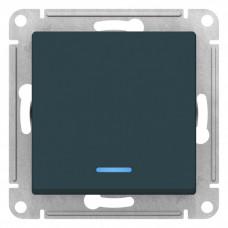 AtlasDesign Изумруд Переключатель 1-клавишный с подсветкой, сх.6а, 10АХ, механизм | ATN000863 | Schneider Electric