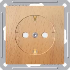 Wessen 59 Бук Розетка с/з с защитными шторками | RS16-152-8-86 | Schneider Electric