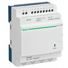 ZELIO LOGIC РЕЛЕ ЭКОНОМ 10ВХ/ВЫХ =24В| SR2D101BD | Schneider Electric