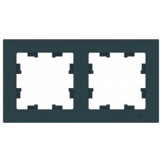 AtlasDesign Изумруд Рамка 2-ая, универсальная | ATN000802 | Schneider Electric