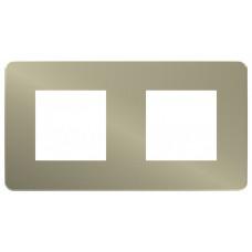 Unica Studio Color Бронза/Белый Рамка 2-ая | NU280450 | Schneider Electric