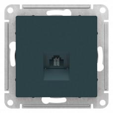 AtlasDesign Изумруд Розетка телефонная RJ11, механизм | ATN000881 | Schneider Electric
