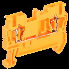 Клемма пружинная КПИ 2в-2,5 31А оранжевая   YZN11-002-K09   IEK