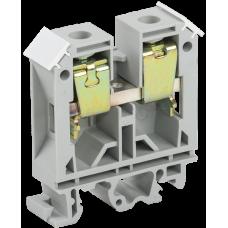 Зажим наборный ЗНИ-35мм2 (JXB125А) серый | YZN10-035-K03 | IEK