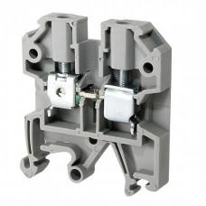 Зажим наборный ЗНИ-4мм2 (JXB35А) серый | YZN10-004-K03 | IEK