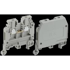 Зажим наборный ЗНИ-2,5мм2 (JXB24А) серый | YZN10-002-K03 | IEK