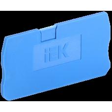 Заглушка для КПИ 2в-4 синяя   YZN11D-ZGL-004-K07   IEK