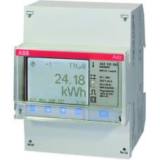 Счетчик 1-фазный активной энергии,1-тарифный,кл. точности 1,трансф.вкл. на ток 1(6)А, имп. выход,RS485,тип A42 112-200 | 2CMA100094R1000 | ABB