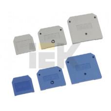 Заглушка для ЗНИ4-6мм2(JXB35-50А) серый | YZN10D-ZGL-006-K03 | IEK