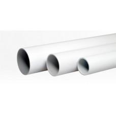 Труба жесткая гладкая ПВХ 20мм лёгкая 3м (150м/уп) | 01420 | Промрукав