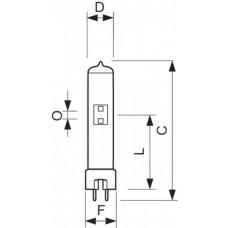 Лампа MSR 250 HR 1CT/4 | 928175605115 | PHILIPS