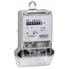 Счетчик эл. энергии однофазный STAR 102/1 C3-10(100)М | CCE-1C1-2-01-1 | IEK