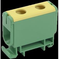 Клемма вводная силовая КВС 6-50 кв.мм. PE | YZN22-050-K52 | IEK