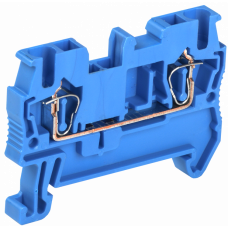 Клемма пружинная КПИ 2в-2,5 31А синий   YZN11-002-K07   IEK