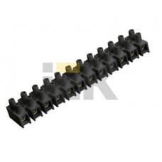 Зажим винтовой ЗВИ-15 н/г 4.0-10мм2 12пар черные | UZV5-015-06 | IEK