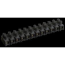 Зажим винтовой ЗВИ-3 н/г 1,0-2,5 мм2 (2 шт/блистер) черные | UZV5-003-04-2 | IEK